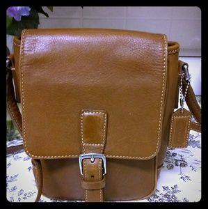 Coach crossbody brown purse